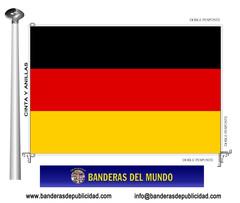 Bandera país de Alemania