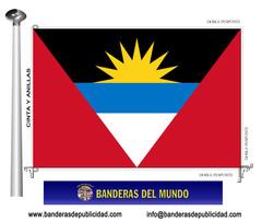 Bandera país de Antigua y Barbuda