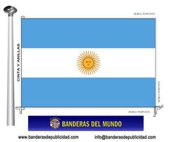 Bandera país de Argentina