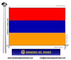 Bandera país de Armenia