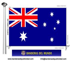 Bandera país de Australia