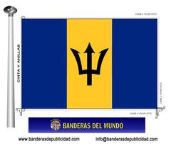 Bandera país de Barbados