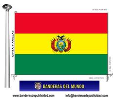 Bandera país de Bolivia
