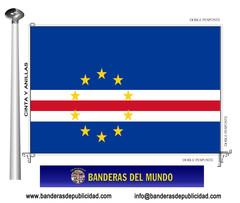 Bandera país de Cabo Verde