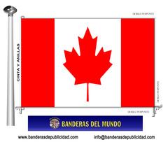 Bandera país de Canadá