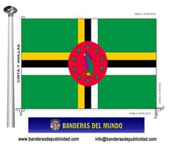 Bandera país Dominicana