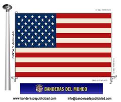 Bandera país de Estados Unidos