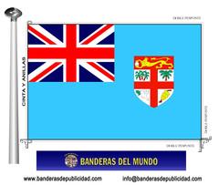 Bandera país de Fiji