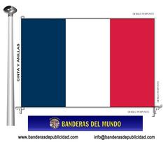 Bandera país de Francia