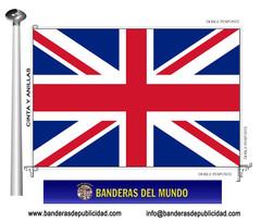 Bandera país de Gran Bretaña