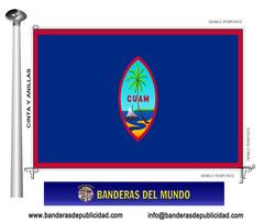 Bandera país de Guam