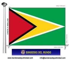 Bandera país de Guayana