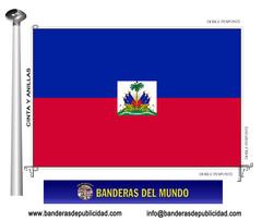 Bandera país de Haití