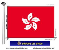 Bandera país de Hong Kong
