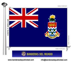 Bandera país de Islas Caimán