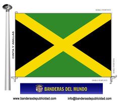 Bandera país de Jamaica