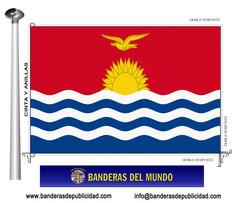 Bandera país de Kiribati