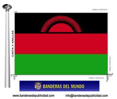 Bandera país de Malawi