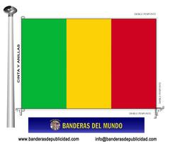 Bandera país de Mali