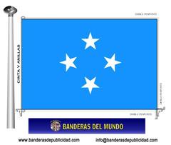Bandera país de Micronesia