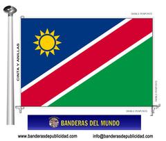 Bandera país de Namibia