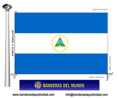 Bandera país de Nicaragua