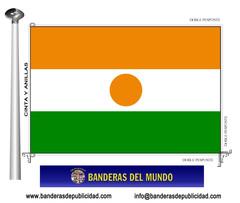 Bandera país de Níger