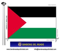 Bandera país de Palestina