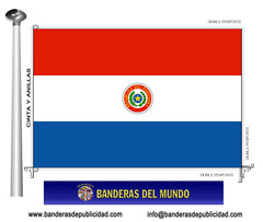 Bandera país de Paraguay