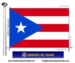 Bandera país de Puerto Rico
