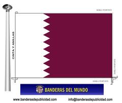 Bandera país de Qatar