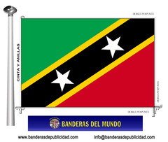 Bandera país de San Cristóbal