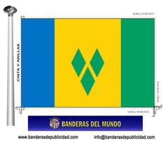 Bandera país de San Vicente