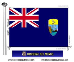 Bandera país de Santa Elena