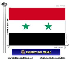 Bandera país de Siria