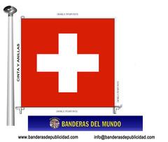 Bandera país de Suiza