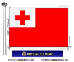 Bandera país de Tonga