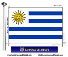 Bandera país de Uruguay