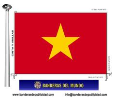 Bandera país de Vietnam
