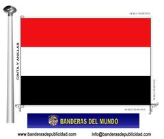 Bandera país de Yemen