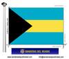 Bandera País d'Bahames.