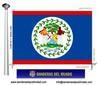 Bandera País d'Belize.