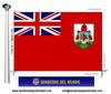Bandera País d'Bermudes.