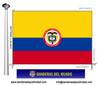 Bandera País de Colombia.