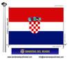 Bandera País de Croacia.