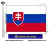 Bandera País d'Eslovaquia.