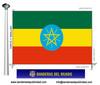 Bandera País d'Etiopia.