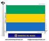 Bandera País d'Gabon.