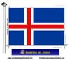 Bandera País d'Islandia.