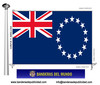 Bandera País d'Illes Cook.